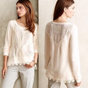 Lace Ways Angel of the North Sweater